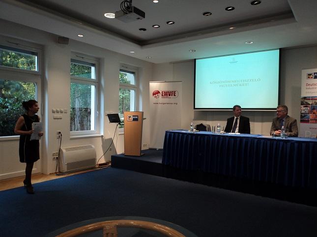 EMVFE Üzleti Reggeli (2016.10.18, Német-Magyar Ipari és Kereskedelmi Kamara Székháza)